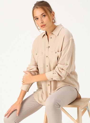 Random Gömlek Bej